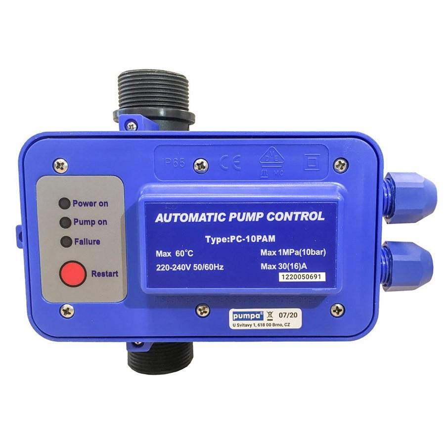 """Vodotěsný tlakový a průtokový spínač PC-10PAM 5/4"""" - Presscontrol IP68      PPC22 5/4"""""""