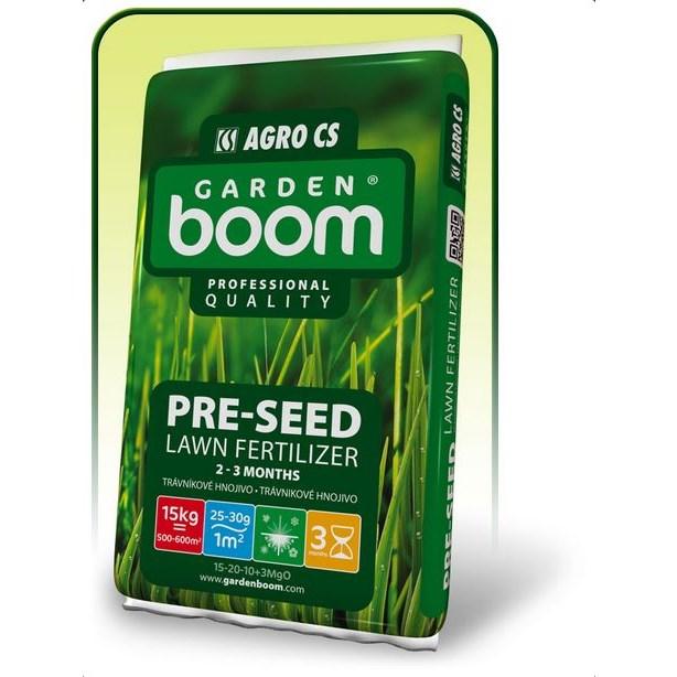 Garden Boom Pre-Seed 15-20-10+3MgO travní hnojivo     AGRO071420