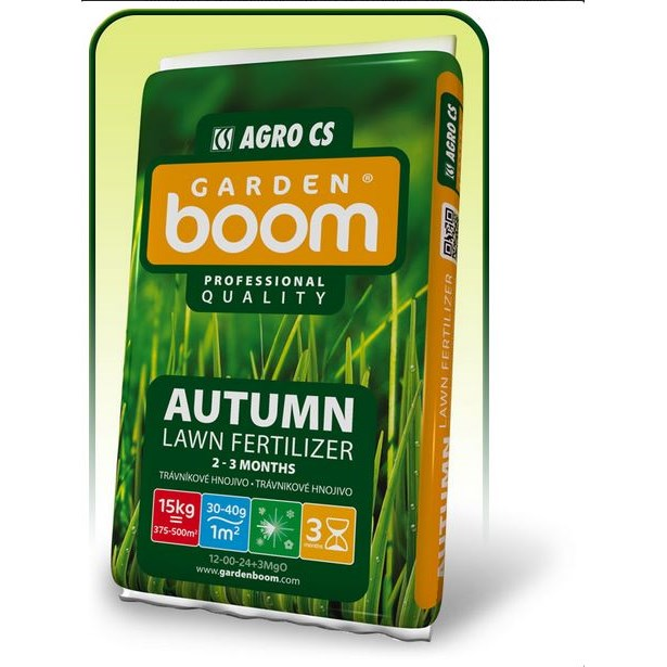 Garden Boom Autumn 14-00-28+3MgO 15kg travní hnojivo     AGRO071422