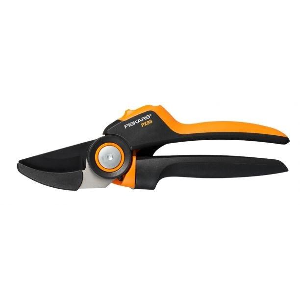 Nůžky FISKARS ruční s převodem PowerGear PX93 jednosečné     6411501110138
